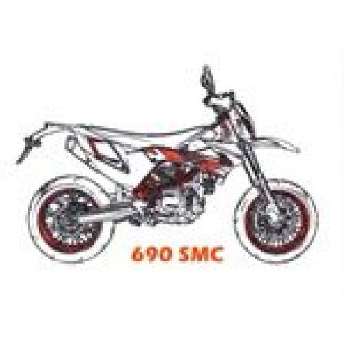 Выхлоп 690 SMC / SMC-R