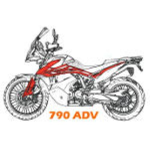 Выхлоп 790 Adventure/R