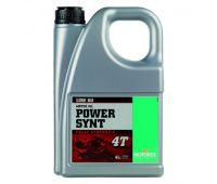 Масло моторное Power Synt 4T 10w60 4L синтетика