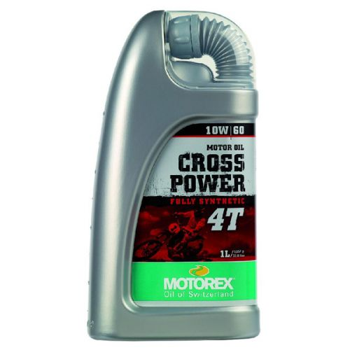 MOTOREX Масло моторное Cross Power 4T 10w60 1L синтетика