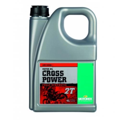 MOTOREX Масло моторное Cross Power 2T 4L синтетика